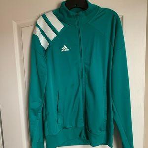 Adidas Teal Track Jacket